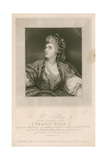 Mrs Sarah Siddons  Actress  in the Character of the Tragic Muse