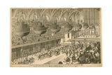 A View of Westminster Hall During the Banquet Given in Honor of the Coronation of King George Iv