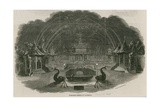 Fireworks Temple at Royal Vauxhall Gardens  London