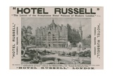 Hotel Russell  Russell Square  London