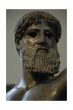 Greek Art Classical Period Initial Period Zeus Bronze Sculpture