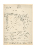General Ground Plan of the Gothic Mansion and the Grounds Adjacent at Strawberry Hill …