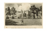 Strawberry Hill  Twickenham  London  the Seat of the Honourable Horace Walpole