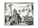 Bishop Poore Leads His People Away from Old Sarum to Found Salisbury