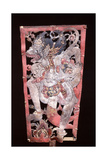 Wayang Shadow Puppet of Hanuman  Monkey Hero of the Ancient Hindu Epic  the Ramayana