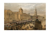 Trafalgar Square  London  7 March 1863