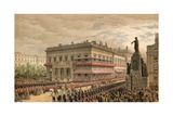 Waterloo Place and Pall Mall  7 March 1863