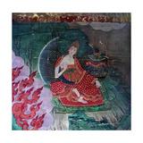 Thang-Ka (Sacred Temple Banner)  Used as an Aid for Meditation