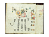 Two Pages from the Codex Cospi