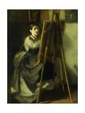 The Young Pupil; La Jeune Eleve  C1870