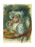 Jean Renoir in a Chair - Child with a Biscuit; Jean Renoir a La Chaise - L'Enfant Au Biscuit  C1895
