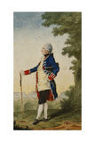 The Baron De Bombelles in the Tuileries  1765