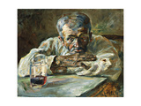 The Alcoholic  Father Mathias; a La Boutique  Chateau Du Bosc: Le Buveur  Le Pere Mathias  1882