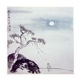 Painting by Ch'I Pai-Shih: 'Walk on a Windy Night'
