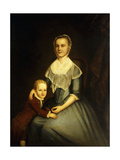 Portrait of Mrs Arbuckle and Son