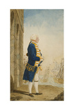 The Duke of York on a Quay in a Flag Officer's Uniform  1768
