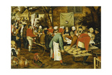 A Peasant Wedding Feast  1630