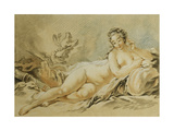 Venus Resting  after Francois Boucher; Le Repos De Venus  after Francois Boucher  1774