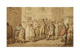 Street Musicians  1823