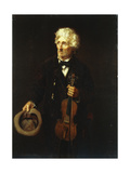 Man with Violin  1879