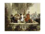 Im Freien  1852