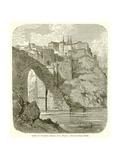 View in Toledo--Bridge of St Martin