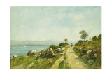 The Road  Antibes; Antibes  La Route  1893