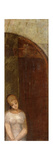 Young Woman Beneath an Arch; Jeune Femme Sous Une Arche  C1886