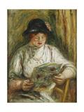 Woman Reading; Femme Lisant  C1910-12