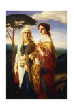 Judith and Her Attendant  1867