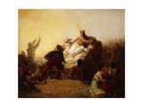 Pizarro Seizing the Inca of Peru  1846