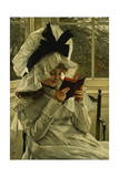 Reading a Book  C1872
