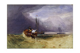 Fishing Boats Off Yarmouth  1832