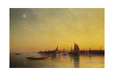 Venice from the Lagoon at Sunset  1873