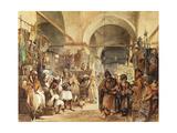 In the Bazaar  1854