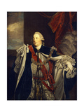 Portrait of William Augustus  Duke of Cumberland  Standing Three-Quarter Length  in Garter Robes