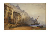 Amalfi from the Shore - a Summer's Morning  1887
