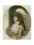 Portrait of Sarah Whitmore  Seated by a Column  1787