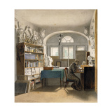 The Artist in His Study  1842