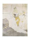 Woman in a Corset  from Elles; Femme En Corset  from Elles  1896