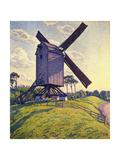 Windmill in Flanders; Moulin En Flandre  1894