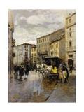 A Street Scene  Milan