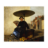 Fruit Seller  1862