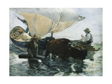 The Return from Fishing  1893