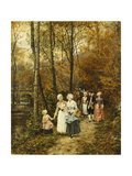 The Afternoon Stroll  1879