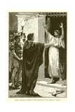 Caesar Possessing Himself of the Treasure in the Temple of Saturn