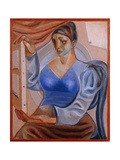 Woman with a Painting; La Femme Au Tableau