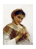 A Breton Girl  1889