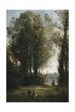 Picking Daisies; La Cueillette Des Marguerites  C1865-1870