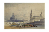 Dresden from the River Elbe  1853